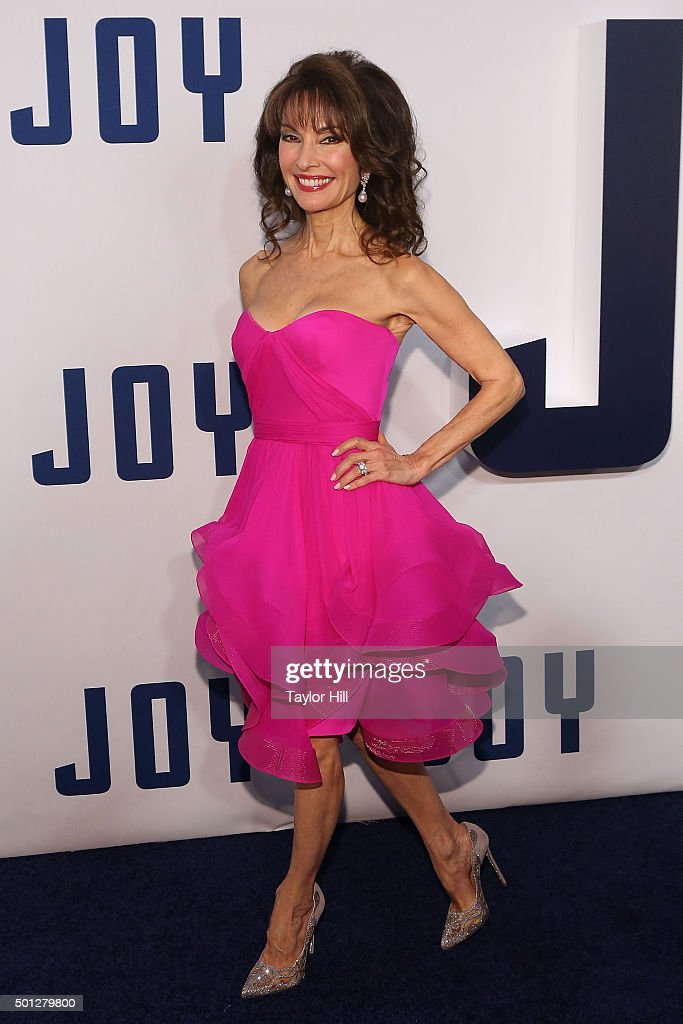 Susan Lucci attends the 'Joy' premiere at Ziegfeld Theater on December 13, 2015 in New York City.