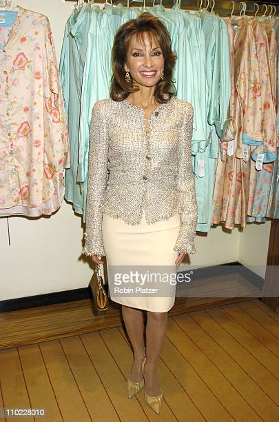 Susan Lucci during Josie Natori and Susan Lucci Host a Benefit for Women in Need at Saks Fifth Avenue in New York City New York United States