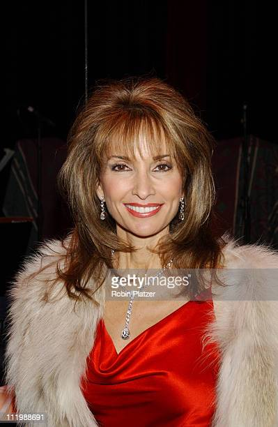 Susan Lucci during Opening night of Tommy Tune White Ties And Tails at Little Shubert Theater in New York NY United States