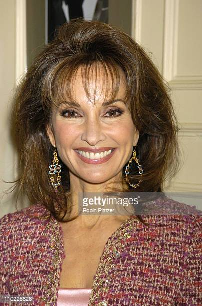 Susan Lucci during The Friars Club Luncheon for Susan Lucci at The Friars Club in New York City New York United States
