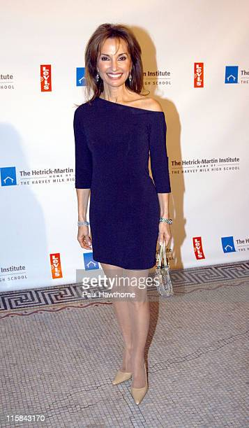 Susan Lucci of 'All My Children' during 2003 Emery Awards After Party New York at Capitale in New York City New York United States