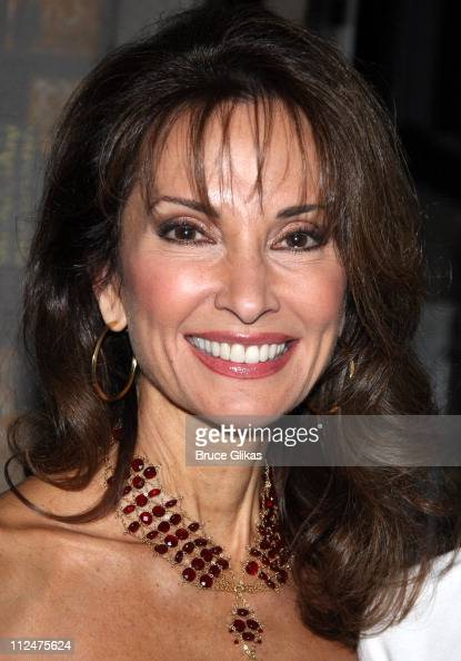 Susan Lucci visits 'Billy Elliot' on Broadway at the Imperial Theatre on March 3 2009 in New York City