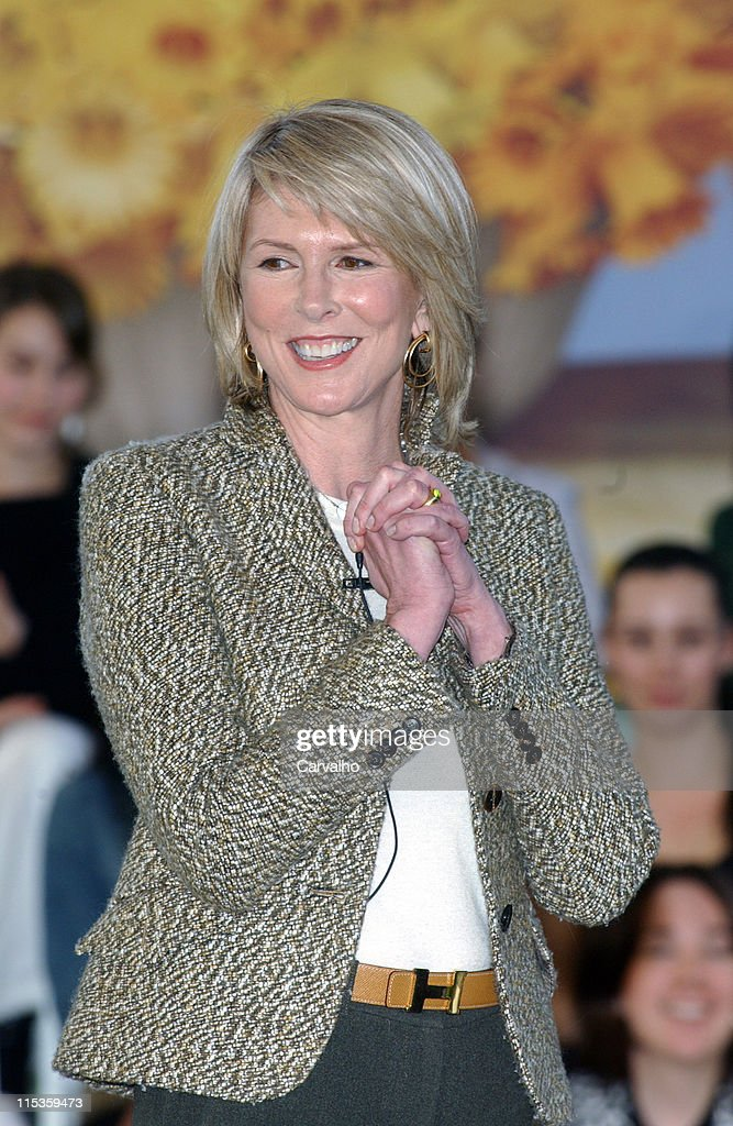 Susan Lyne CEO of Martha Stewart Living during Martha Stewart Press Conference March 7 2005 at Martha Stewart Offices Chelsea in New York City New...