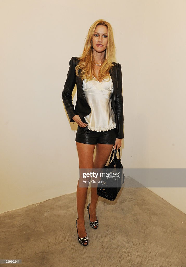 Susan McKagen attends the Samuel Bayer Ace Gallery Exhibit Opening, presented by Panavision at Ace Gallery on March 2, 2013 in Beverly Hills, California.