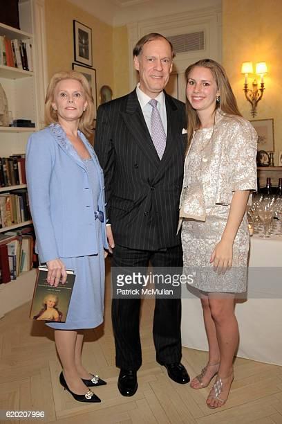 Susan Nagel Jon Nagel and Hadley Nagel attend TINA BROWN VICKY WARD and LA MER host party honoring SUSAN NAGEL'S new book 'Marie Therese' at Tina...