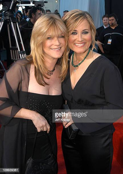 Susan Olsen and Maureen McCormick during The TV Land Awards Arrivals at Hollywood Palladium in Hollywood CA United States