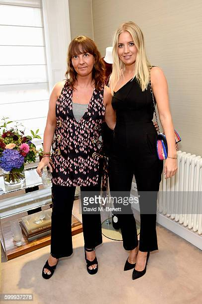Susan Pendlebury and Marissa Montgomery attend a cocktail reception hosted by RACIL and MATCHESFASHIONCOM to celebrate the launch of Racil AW16...