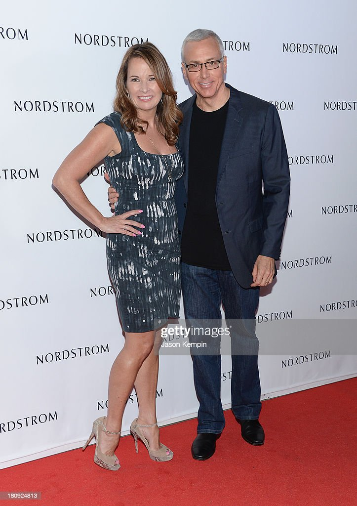 Susan Pinsky and Dr. Drew Pinsky attend the Nordstrom Gala at The New Nordstrom's At The Americana At Brand at The Americana at Brand on September 17, 2013 in Glendale, California.