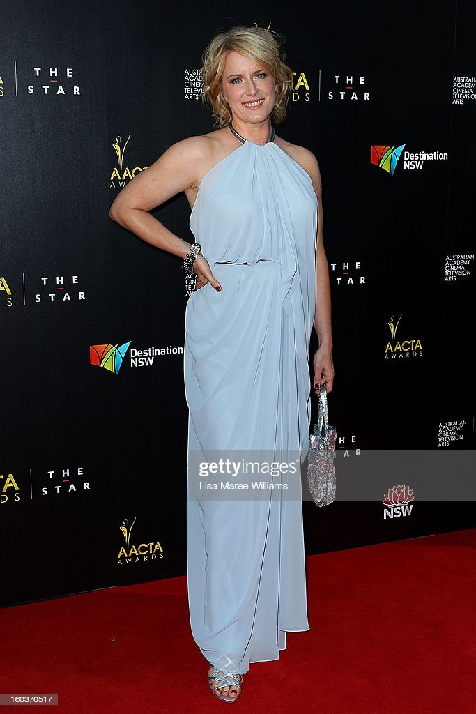 Susan Pryor arrives at the 2nd Annual AACTA Awards at The Star on January 30, 2013 in Sydney, Australia.