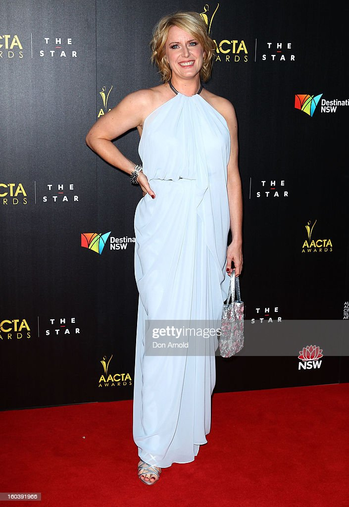 Susan Pryor arrives for the 2nd Annual AACTA Awards at The Star on January 30, 2013 in Sydney, Australia.