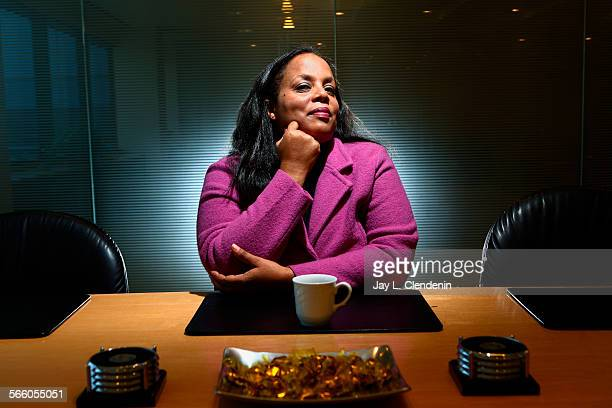 EL SEGUNDO – AUGUST 20 2008– Susan Reese owner of 411 Creatives is photographed in a conference room of her El Segundo office Aug 20 2008 Reese's...