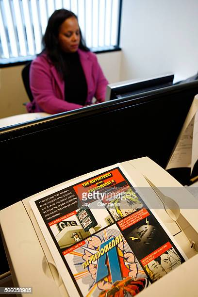 EL SEGUNDO – AUGUST 20 2008– Susan Reese owner of 411 Creatives is photographed in her El Segundo office Aug 20 2008 Reese's company is an artist rep...