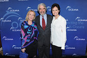 Susan Rockefeller Sam Waterston and Lynn Louisa Woodruff attend Oceana's 2015 New York City benefit at Four Seasons Restaurant on April 1 2015 in New...