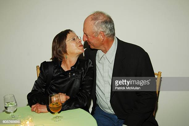 Susan Rothenberg and Bruce Nauman attend The Drawing Center 2006 Gala at The Drawing Center and Tribeca Rooftop on May 8 2006 in New York City