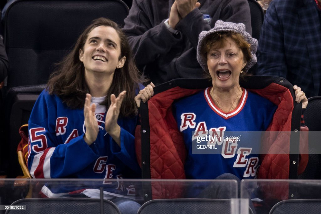 Celebrities Attend Florida Panthers Vs. New York Rangers - March 17, 2017