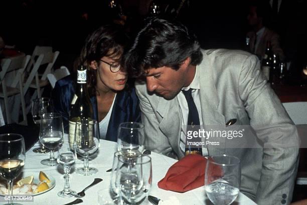 Susan Sarandon and Richard Gere chatting circa 1984 in New York City