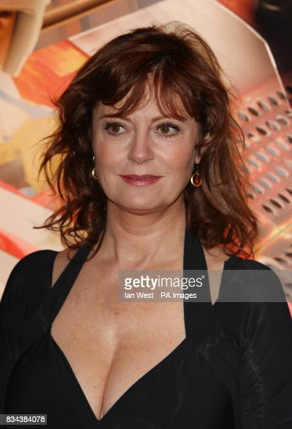 Susan Sarandon arrives for the UK premiere of Speed Racer at the Empire Leicester Square in central London