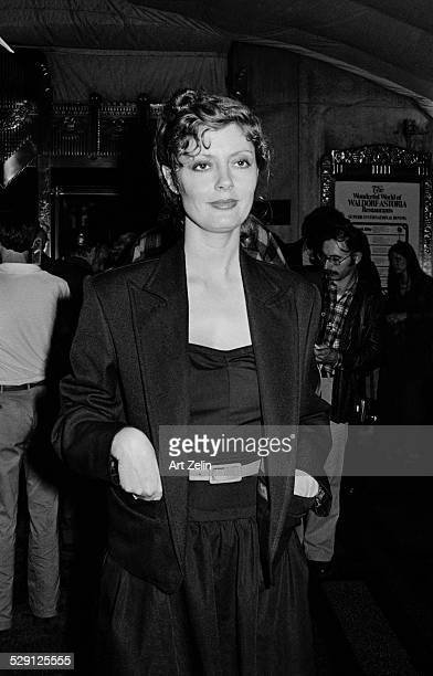 Susan Sarandon at an evening event circa 1970 New York