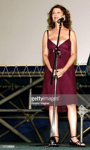 Susan Sarandon at the Locarno in Locarno Switzerland