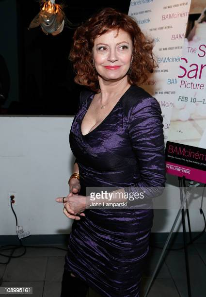 Susan Sarandon attends an after party following the 'Susan Sarandon Picture Show' screening at SPiN New York on February 10 2011 in New York City