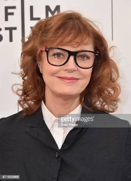 Susan Sarandon attends 'Bombshell The Hedy Lamarr Story' Premiere during the 2017 Tribeca Film Festival at SVA Theatre on April 23 2017 in New York...