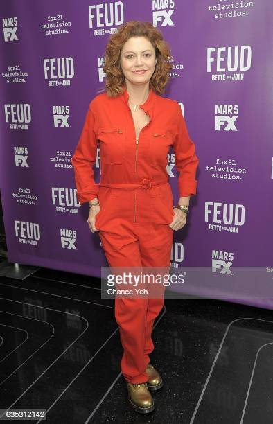 Susan Sarandon attends 'Feud' Tastemaker lunch at The Rainbow Room on February 14 2017 in New York City