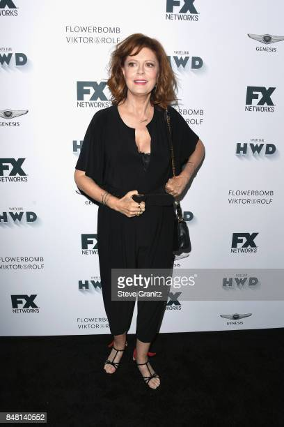 Susan Sarandon attends FX and Vanity Fair Emmy Celebration at Craft on September 16 2017 in Century City California