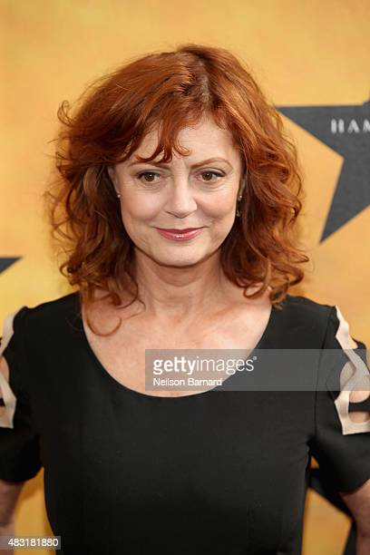 Susan Sarandon attends 'Hamilton' Broadway Opening Night at Richard Rodgers Theatre on August 6 2015 in New York City
