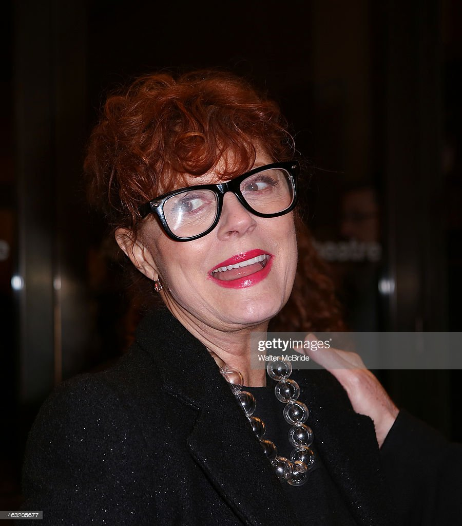 <a gi-track='captionPersonalityLinkClicked' href=/galleries/search?phrase=Susan+Sarandon&family=editorial&specificpeople=202474 ng-click='$event.stopPropagation()'>Susan Sarandon</a> attends the Broadway opening night of 'Machinal' at American Airlines Theatre on January 16, 2014 in New York, New York.