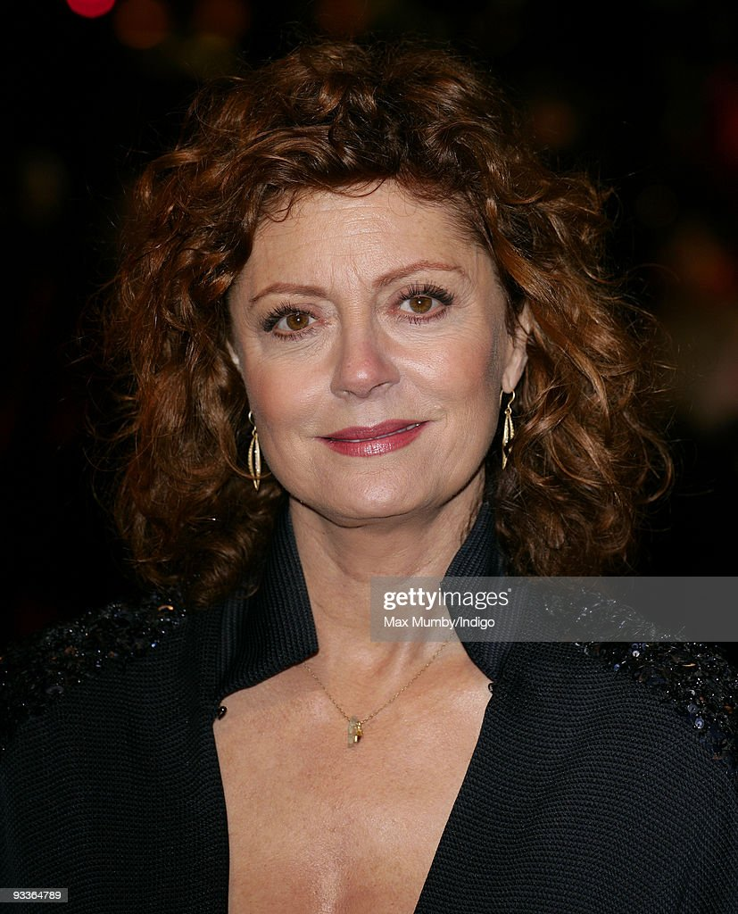 Susan Sarandon attends the Charity Royal Film Performance of 'The Lovely Bones' at the Odeon Cinema Leicester Square on November 24, 2009 in London, England.