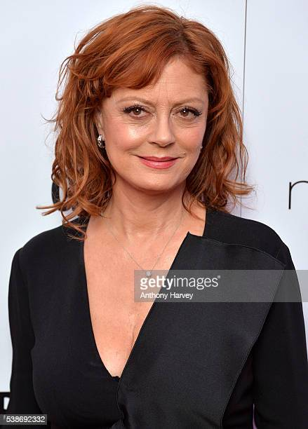 Susan Sarandon attends the Glamour Women Of The Year Awards at Berkeley Square Gardens on June 7 2016 in London England
