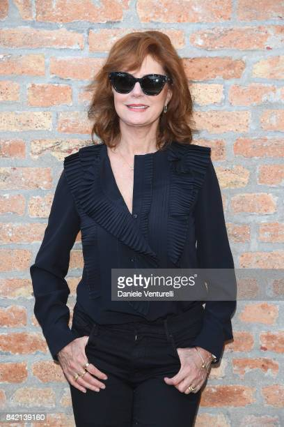 Susan Sarandon attends the Kineo Diamanti Awards press conference during the 74th Venice Film Festival at on September 3 2017 in Venice Italy