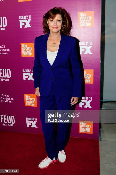Susan Sarandon attends the 'Latin History For Morons' Opening Night Celebration at The Public Theater on March 27 2017 in New York City