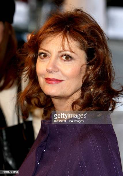 Susan Sarandon attends the premiere of Emotional Arithmetic at during the Toronto Film Festival at Rot Thomson Hall