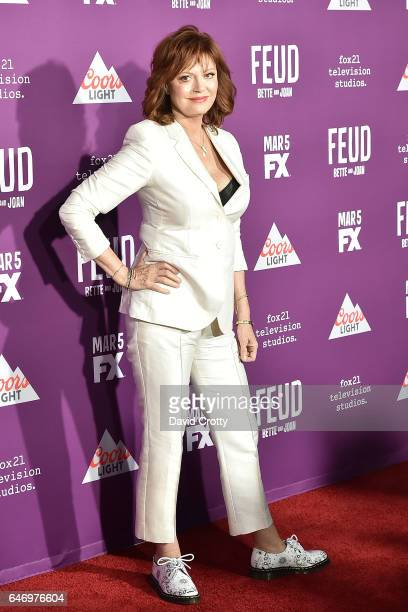 Susan Sarandon attends the Premiere of FX Network's 'Feud Bette And Joan' Arrivals at Grauman's Chinese Theatre on March 1 2017 in Hollywood...