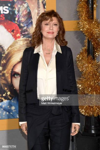 Susan Sarandon attends the premiere of STX Entertainment's 'A Bad Moms Christmas' at Regency Village Theatre on October 30 2017 in Westwood California