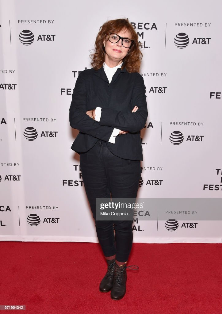 Susan Sarandon attends the 'Saturday Church' Premiere during the 2017 Tribeca Film Festival at Cinepolis Chelsea on April 23, 2017 in New York City.