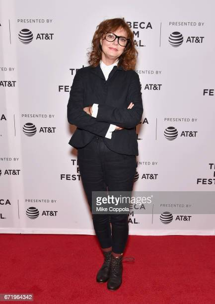 Susan Sarandon attends the 'Saturday Church' Premiere during the 2017 Tribeca Film Festival at Cinepolis Chelsea on April 23 2017 in New York City