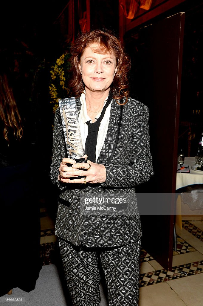 Susan Sarandon attends Variety Power Of Women New York presented by FYI at Cipriani 42nd Street on April 25 2014 in New York City