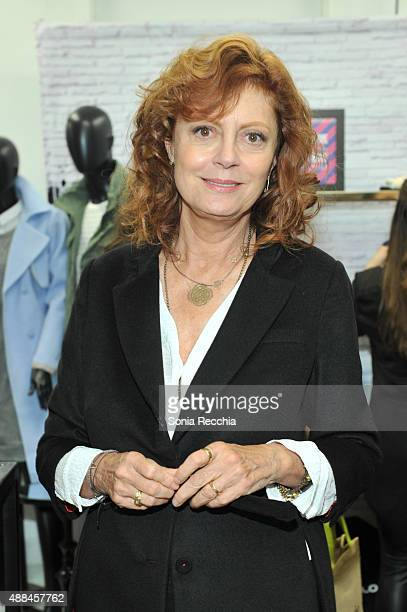 Susan Sarandon attends W Magazine NKPR IT Lounge Studio at TIFF Bell Lightbox on September 15 2015 in Toronto Canada