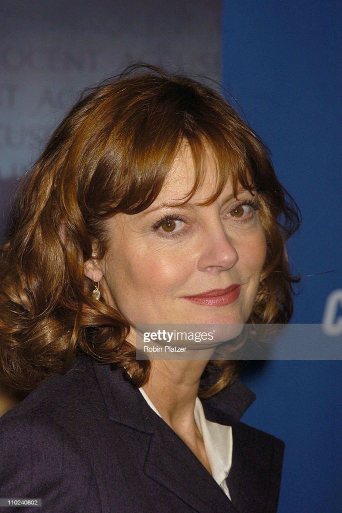 Susan Sarandon during Court TV's Original Movie 'The Exonerated' New York City Premiere at Museum of Television and Radio in New York City, New York, United States.