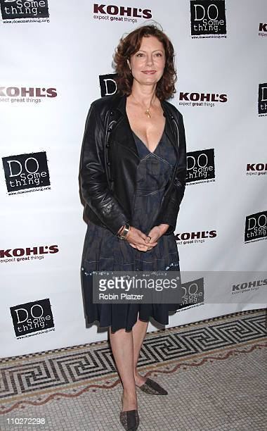 Susan Sarandon during The 2006 Do Something Brick Award Honoring Young Change Makers Sponsored by Kohls at Capitale in New York New York United States