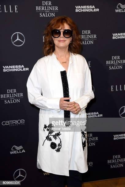Susan Sarandon during the Vanessa Schindler presented by MercedesBenz ELLE defile during 'Der Berliner Mode Salon' Spring/Summer 2018 at...