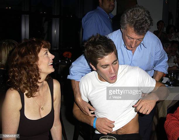 Susan Sarandon Jake Gyllenhaal and Dustin Hoffman