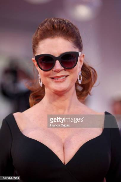 Susan Sarandon walks the red carpet ahead of the 'The Leisure Seeker ' screening during the 74th Venice Film Festival at Sala Grande on September 3...