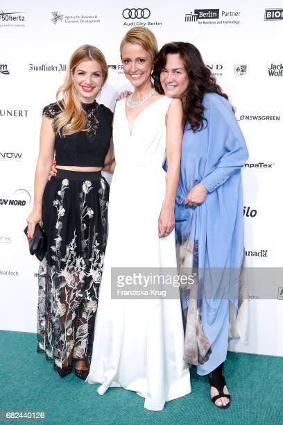 Susan Sideropoulos Alexa Oswald and Gabriele Oestreich during the GreenTec Awards at ewerk on May 12 2017 in Berlin Germany