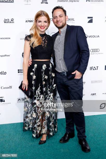 Susan Sideropoulos and her husband Jakob Shtizberg during the GreenTec Awards at ewerk on May 12 2017 in Berlin Germany