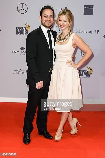 Susan Sideropoulos and Jakob Shtizberg attend the Tribute To Bambi 2014 at Station on September 25 2014 in Berlin Germany