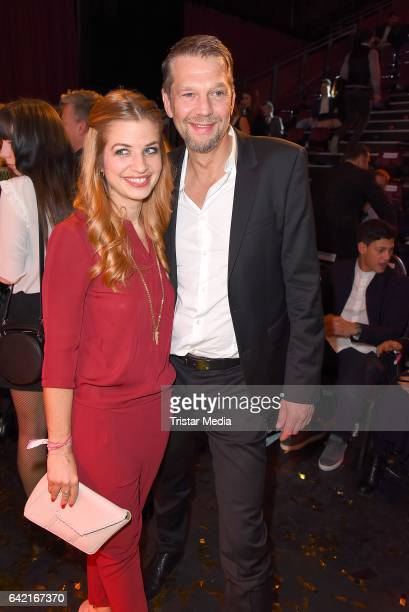 Susan Sideropoulos and Kai Wiesinger attend the 99FireFilmsAward at Admiralspalast on February 16 2017 in Berlin Germany