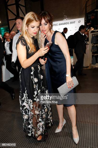 Susan Sideropoulos and Maike von Bremen during the GreenTec Awards at ewerk on May 12 2017 in Berlin Germany